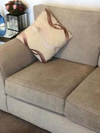 2 Two Seater Sofa's