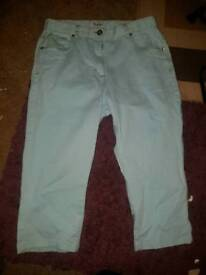 Womens size 14. Being Casual Blue trousers.