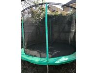 Jumpking 10ft Trampoline - £25 SW19 (buyer to collect and dismantle)