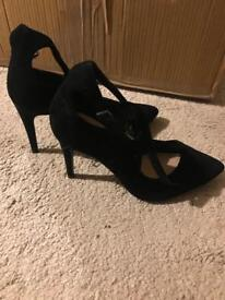 Two new black heels