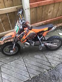 Ktm 50 sx pro jr 2006 £400