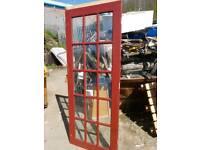 Hardwood glazed door