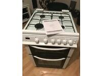 Bush AG66TW gas cooker