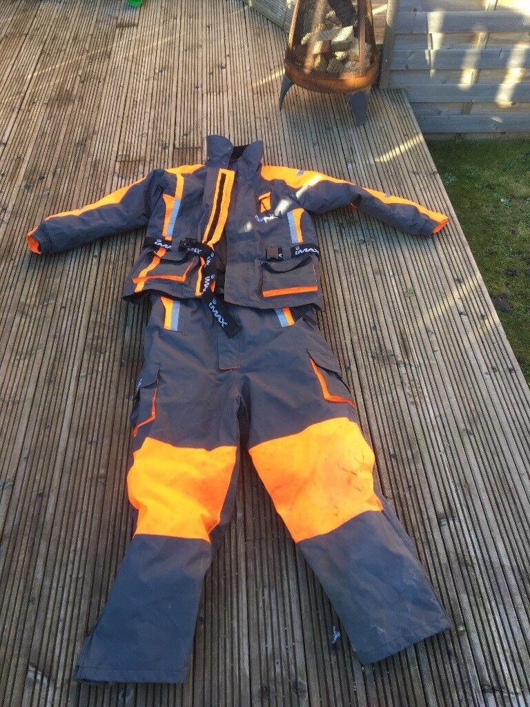 IMAX two piece flotation suit