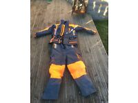 IMAX two piece flotation suit