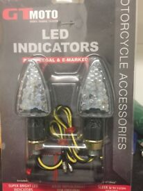 LED indicators Unsealed unused