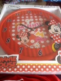 disney minnie mouse giant 3d wall clack