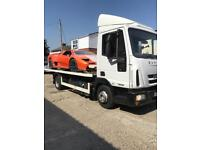 24/7 CHEAP CAR VAN RECOVERY VEHICLE BREAKDOWN TOWING TRUCK TIPPER FORKLIFT TRANSPORT