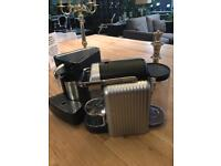 Nescafé Nespresso Zenius coffee machine and Cappiccinator cs20 milk frother.
