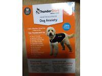 Thundershirt dog anxiety vest medium grey boxed like new