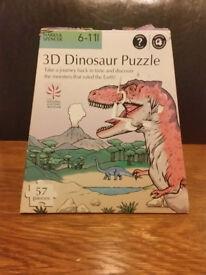 3D Dinosaur Puzzle