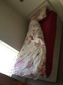 Single Bed Complete With Mattress