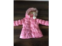 Pink girls Osh Kosh Bgosh coat size 2-3