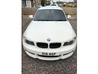 BMW 1 Series 120d M Sport White Auto