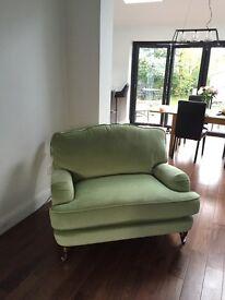Laura Ashley Lynden snuggle chair brand new