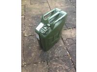Metal Jerry Can 20 litre