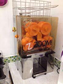 Commercial Auto Feed Orange Juicer Machine Not Much Used