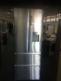 New Ex Display Haier 4 Door American Style Fridge Freezer Slimline RRP £679!! a222