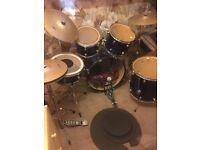 Full size Leedy drum kit