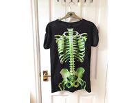 Topshop Skeleton T-Shirt Size 6 (Fits Size 8)