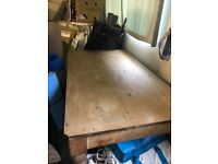 Old Pine Kitchen Table