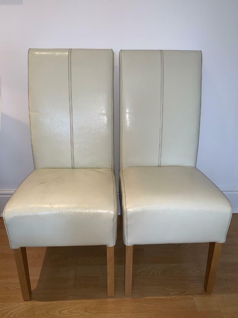 Wondrous Dining Chairs In West Hampstead London Gumtree Machost Co Dining Chair Design Ideas Machostcouk
