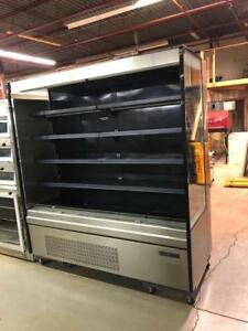 USED 6 FT LONG OPEN FRONT COOLER