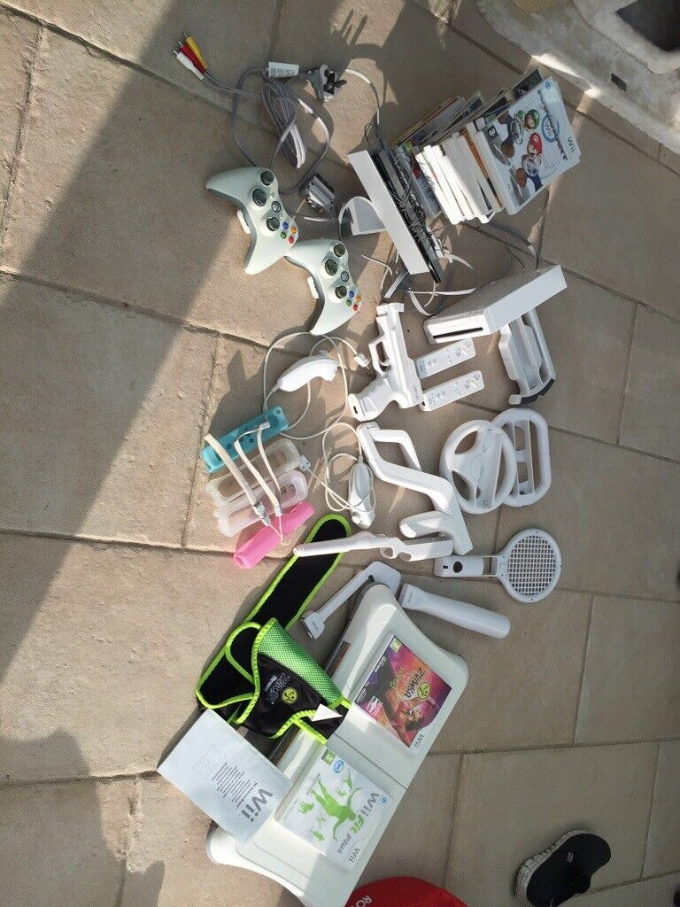 Nintendo wii console with wii fit balance board lots of games and other  bits  | in Bournemouth, Dorset | Gumtree
