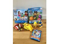Paw Patrol Toys, Games, DVD & puzzle bundle