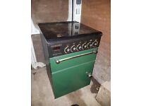 rangemaster 55 gas cooker green gold free delivery 3 towns