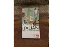 Language Book to learn Italian