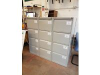 Bisley metal filing cabinets many available only £25 each