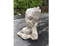 Groot garden statue