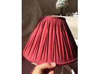 Laura Ashley silk lampshades (pair)