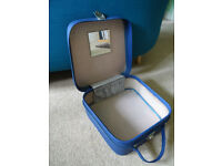 Vintage Blue Vanity Case