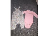 Baby girls 3-6 month outfit bundle