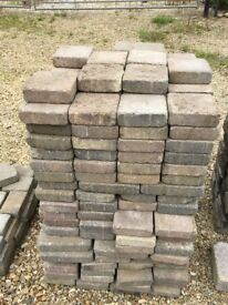 """Brick pavers to clear..6"""" x 6"""" x 2""""....about 300 units to clear REDUCED"""