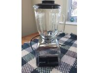 RETRO LOOKS EARLY DUALIT BLENDER MODEL DBL 375 WATT POWERFUL GLASS 1.25LITRE JUG 4 BLADES