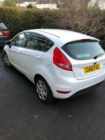 Fiesta 1.2 edge low mileage
