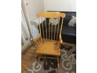 *** WOODEN ROCKING CHAIR FOR SALE***