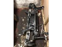Mercedes A class 2016-17 complete rear axle