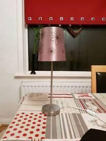 Lamp with lamp shade