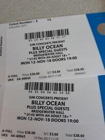 2 Billy Ocean tickets