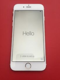 apple iPhone 6 64gb Silver unlocked in excellent condition