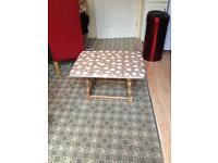 Priory Shabby chic decoupage coffee table