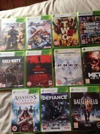 Xbox 360 games bundle. 11 games.