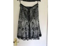 ladies dressy skirt size 12 Ibo London