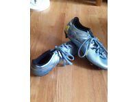 Messi original plastic studd football boots