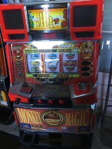 MONKEY MAGIC Digital LCD Japanese Pachislo Skill Stop Slot Machine