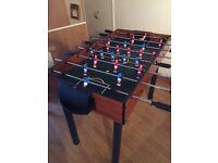 Foose Ball table - C/W legs - Never used c/w balls etc